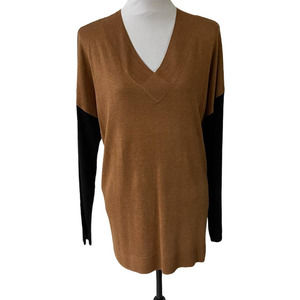 Apt. 9 V-Neck Pullover Tunic Sweater XLG